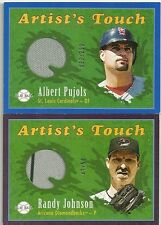 2004 Upper Deck Play Ball ALBERT PUJOLS Artist's Touch Game Used Jersey #d/250