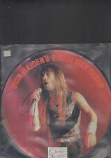 IRON MAIDEN / BRUCE DICKENSON - interview picture disc LP