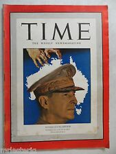 Time Magazine  March 30,1942  *Australia's MacArthur*  GREAT ADS