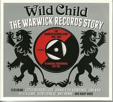 WILD CHILD THE WARWICK RECORDS STORY 1959 - 1962 - 3 CD BOX SET