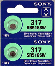 SR516SW battery Sony watch batteries Expire Date 2018 Free shipping in USA