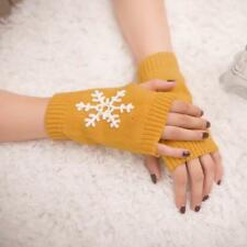 Fashion Unisex Men Women Knitted Fingerless Winter Gloves Soft Warm Mitten Hot