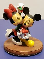 2008 Disney Bradford Exchange Mickey And Minnie Together Forever December A2230