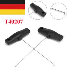 2X Tacho Ausziehhaken Haken Auszieher Satz Werkzeug Edelstahl Für Benz Audi