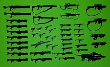 Star Wars Weapon Accessory Lot of 46 Rebel Clone Blaster Missile Launcher DC-17