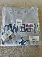 Dallas Cowboys 4XL Gray DXL NFL Authentic Apparel T Shirt