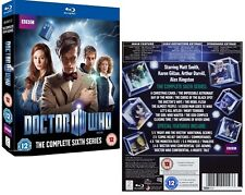 DR WHO 2011 Series 6 - Doctor Matt SMITH, Amy Pond + Rory Season - NEW BLU-RAY