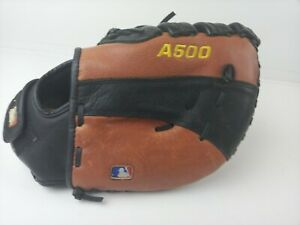 "Wilson Catcher's Mitt Baseball Glove Leather Advantage A500 12"" A0502 LHT ABM12"
