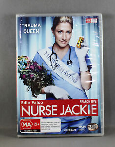 Nurse Jackie Season 5 - DVD - Brand New Sealed