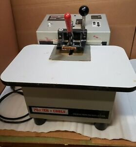 Porter Cable Production Pocket Cutter Model 552