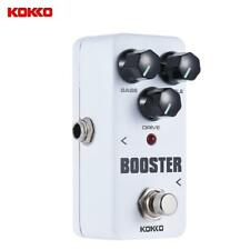 KOKKO Mini Booster Pedal Portable 2-Band EQ Guitar Effect Pedal R4C6