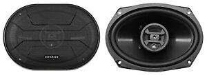 Pair Hifonics ZS693 6x9 Inch 800 Watt 3 Way Car Audio Coaxial Speakers