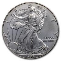 1999 1 oz Silver American Eagle (Abrasions) - SKU#170904