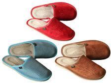 Unbranded Standard (B) Width Suede Slippers for Women