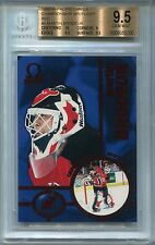 1998-99 Pacific Omega Championship Spotlight Red 6 Martin Brodeur 3/10 BGS 9.5