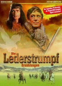 Die Lederstrumpf Erzählungen [DVD/NEU/OVP] Legendäre ZDF TV-Vierteiler/ Hellmut