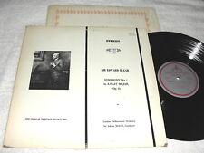 "Boult/London Philharmonic ""Elgar: Symphony No. 1"" 1979 LP, Nice NM!, MHS-1285"