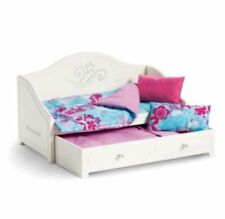 "NEW - American Girl Truly Me Trundle Bed & Bedding Set for 18"" Doll"