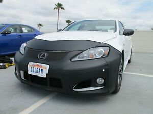 Colgan Front End Mask Bra 2pc. Fits Lexus IS F 2008-2012 With License Plate