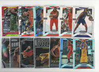 13 count lot mixed 2019/20 WNBA Panini Prizm Inserts and Color Prizm Cards LOOK!