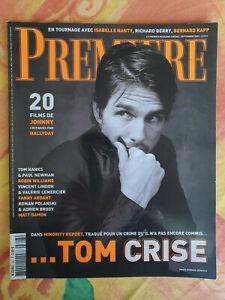 Magazine Première n°307 septembre 2002 Tom Cruise 20 films de Johnny TBE