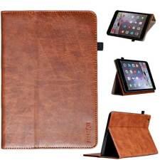 Premium Leder Schutzhülle für Apple iPad 2/3/4 Tablet Tasche Cover Case braun