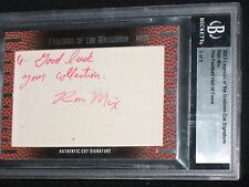 RON MIX  2013 LEAF  legends of gridiron  #5/9  AUTO card  SAN DIEGO CHARGERS