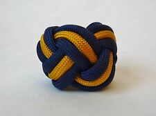 Paracord Neckerchief Woggle Slide Wolf Cub Boy Scout Turks Head Knot Handmade