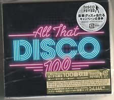 Various Artists - All That Disco 100 Songs Box Set Japan  Import 6 Cd's Sealed