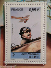FRANCE 2010, TP 4508, VEDRINES, AVIATION, AVION, neuf**, MNH STAMP PLANE FLYING