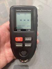 New Listingtc 100 Thickness Gauge Paint Coating Digital Car Paint Thickness Meter 0 1300um