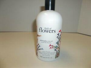 Philosophy Field Of Flowers Peony Blossom Shampoo Shower Gel Bubble Bath 16 oz