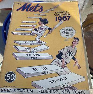1967 New York Mets Official Baseball Year Book HOF Tom Seaver / Koosman / Grote