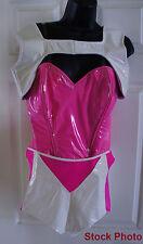 BIZZY B Custom pink white Sci Fi Costume SING YOUR FACE OFF Nicki Minaj S XS
