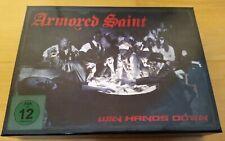Armored Saint - Win Hands Down - box set limited CD, DVD Kartenspiel nummeriert