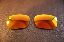 PolarLenz Polarized Fire Red Iridium Replacement Lens for-Oakley TwoFace