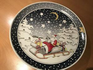 Villeroy & Boch Weihnachtsteller St. Nikolaus