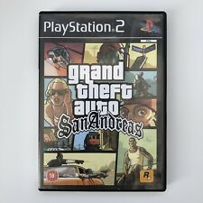 GTA Grand Theft Auto: San Andreas (With Map) - PlayStation 2