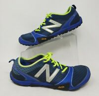 New Balance MT10BY3 10v3 Blue Yellow Minimus Trail Running Shoes Mens 10.5