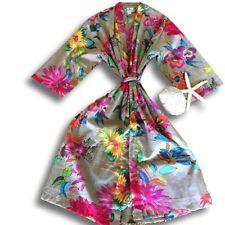 Kimono Floral 100% Cotton Sleepwear for Women