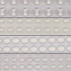 Transparent 3M Rubber Feet Bumpons Self Adhesive Circle UK Stock Free Postage