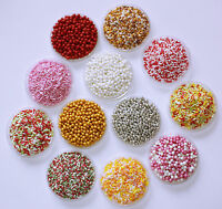 Cake Decorations, Pearls, Sprinkles, Dragees,Strands, Vermicelli, Gold Choc Chip