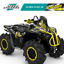 CAN AM RENEGADE GRAPHICS X MR (570 and 1000R) STICKER KIT +FREE GIFT