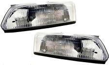 97 98 99 Camry Left & Right Headlight Headlamp Lamp Light Pair L+R