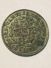 1826 5 BATZEN CANTON BASEL  - SWITZERLAND SILVER SWISS