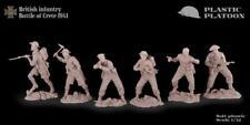 Plastic Platoon Toy Soldier British Infantry Battle of Crete 1941  1:32 54mm