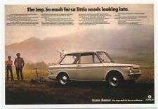 Hillman Sunbeam Chrysler Imp 1971 MODERN postcard issued by Vintage Ad Gallery