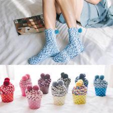Ladies High Quality Knitted Creative Cake Socks Winter Women Socks Warm