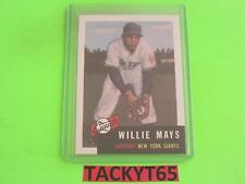 WILLIE MAYS (NY GIANTS) 1991 TOPPS 1953 ARCHIVES REPRINT CARD #244