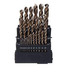 Drillpro M42 HSS Twist Drill Bit Set 3 Edge Head 8% High Cobalt Drill Bit for
